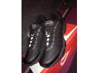 Nike Air Max 95 Ultra Jacquard Triple Black Size 7 UK