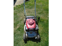 Honda izy self propelled lawnmower In working order No grassbox It is as in pictures