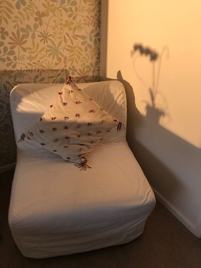 Single Sofa Chair Bed With Cover