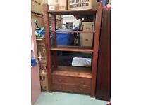 Book shelf wal unit