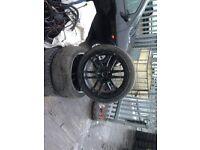 toyota ceilca set of 5 alloy wheels