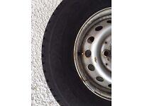 Mercedes Sprinter Wheel and 225 70 15 Goodyear Tyre