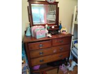 Antique solid wood Dressing Table