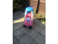 Little tikes pink herby car