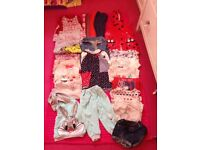 Baby girl 9-12 to 18-24 months job lot mixed