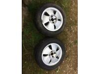 Vauxhall fan blades x2