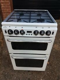 Freestanding Gas Cooker in white - Bargain !