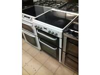 Electric cooker glass top