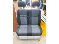 VW Crafter Double Seat