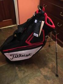 Titleist players 5 stand bag. BRAND NEW!
