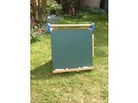 Children's chalk and white board - foldable