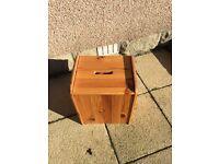 Pine box - stool and storage