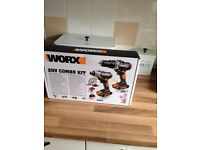 WORX 20V combo kit