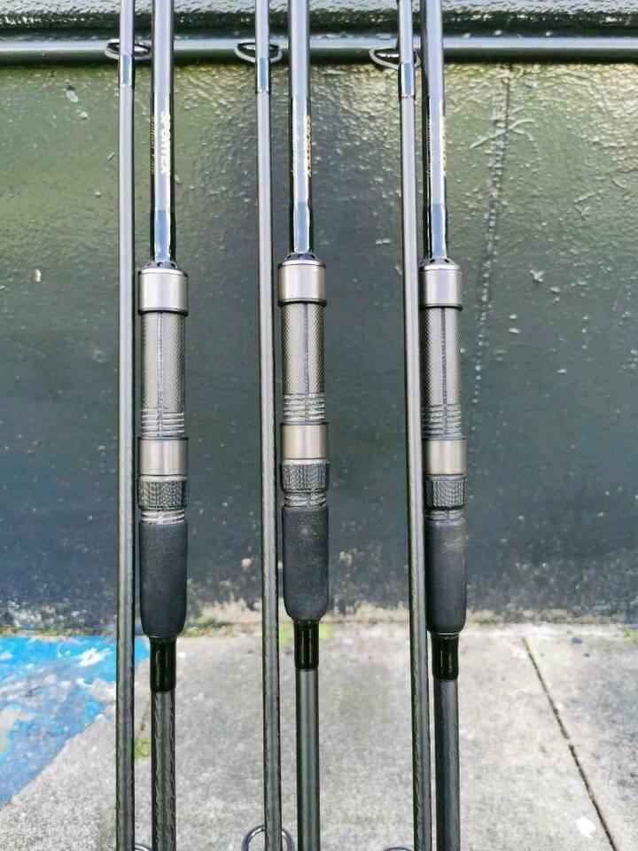 3× Sportex Brillant Carp 12ft 3lbs Karpfenruten Angelruten Carp in Niedersachsen - Bad Bentheim