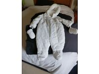 BAMBINI Snowsuit by BHS 6-9 mths