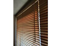 Wooden blinds in good usable condition