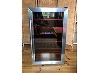 Hoover Wine Fridge/Cooler - 33 x 75cl, Dual Temp Control HWC2335X w/User Guide
