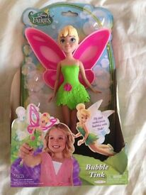 Disney tinker bell toy doll