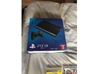Ps3 slim and 19 games boxed as new condition with controller and leads immaculate