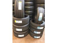 235/50R18 Bridgestone NEW TYRES FITTED £99 each . PartWorn Tires availabel