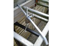 NEW (£10) A PAIR ROOFBAR LADDERCLAMPS