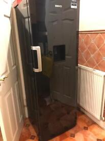 Beko fridge with water dispenser. less than 2 years old