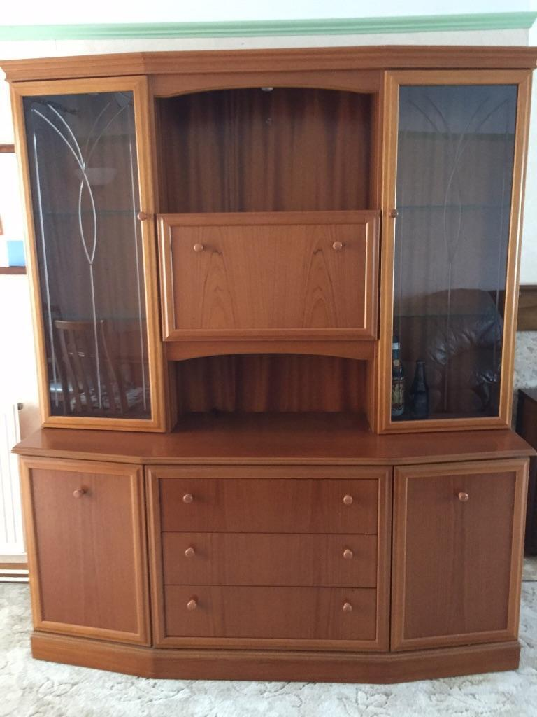 Light Wood Display Cabinet Sideboard In Hutton Essex