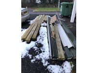 Shed - steel frame and tin (tin unused)