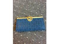 Blue purse brand new