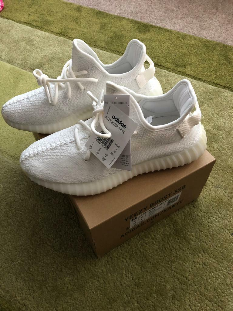 2e41f4b70afbe0 Adidas yeezy triple white brand new 100% authentic