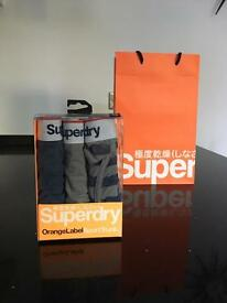 Superdry Men's Sport Trunks Boxers (S)