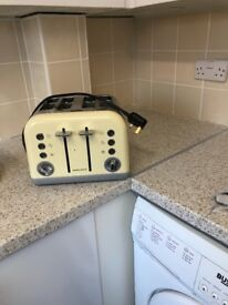 Morphy Richards cream toaster
