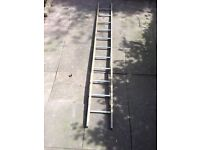 Steel iron metal 3 meter ladder can deliver.