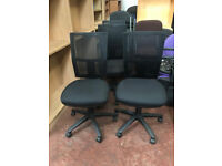 Black Mesh Adustable Computer Chairs