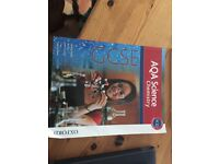 AQA Chemistry GCSE and AQA Chemistry Revision Guide - Two book Bundle