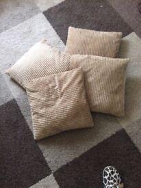 Four cushions