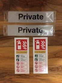 Office signs for free