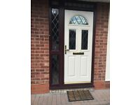 Composite door and framework-Excellent condition