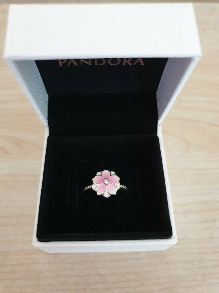 1d401c043 Pandora Magnolia Bloom ring size 54 boxed | in East End, Glasgow ...