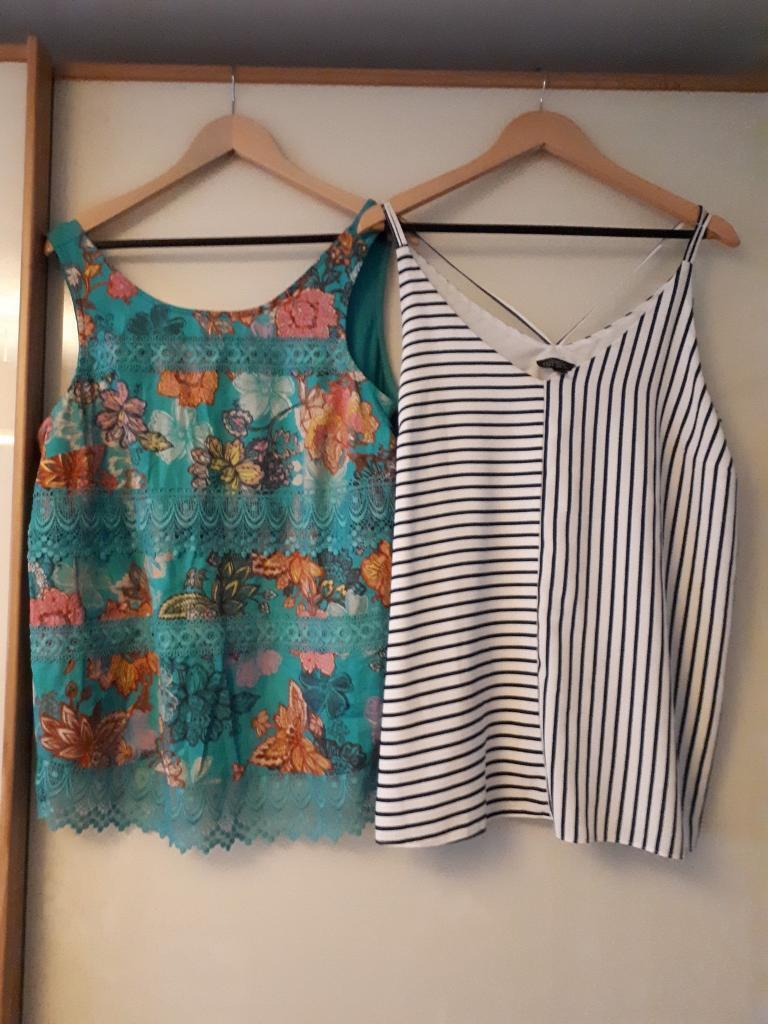 Size 14 maternity tops