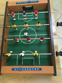 **Table Top Football Game**