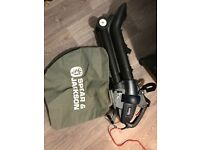 Spear and Jackson 2 in 1 garden leaf blower and vacuum 300w hardly used and boxed