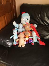 In the night garden soft toys
