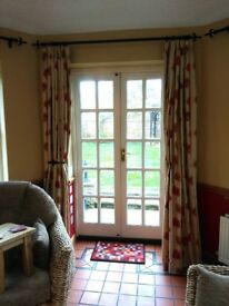 Made to measure lined 89 inch M&S curtains