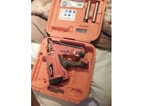 Paslode im350+ nailgun and 8 gas cylinders
