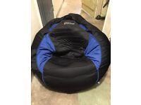 X rocker gaming chair/beanbag,built in amp and speakers