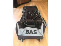 Large BAS cricket bag w/ wheels