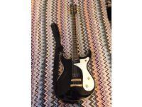Eastwood Sidejack Baritone Guitar - Upgraded: Locking Planet Waves Tuners - Creamery P90 Humbucker