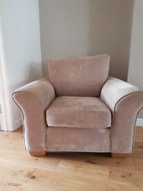 Next 'Garda' armchair in Hendon mink.