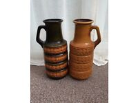pair of large German pots from 70s